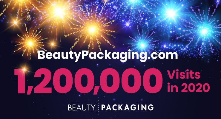 BeautyPackaging.com Traffic Surpasses 1.2 Million Visits in 2020