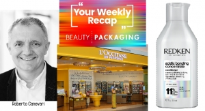 Weekly Recap: New Estée Lauder Sustainability Goals, L'Occitane Files for Bankruptcy & More