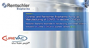CureVac, Rentschler Ramp up COVID Vax Production