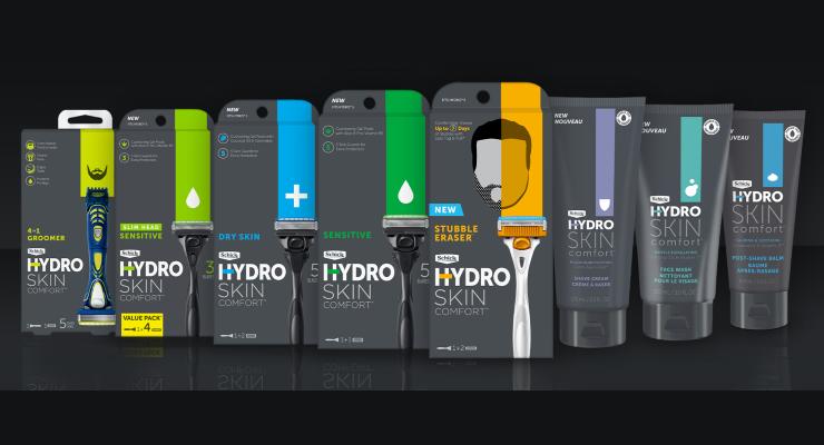 Schick Hydro Rebrands