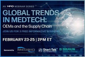 Global Trends in Medtech: OEMs and the Supply Chain