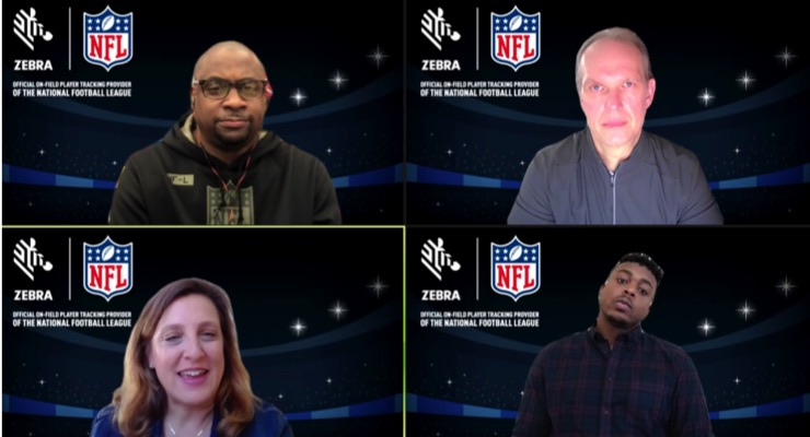 Zebra Technologies Tracking Players from Preseason to Super Bowl