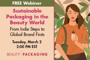 Sustainable Packaging in the Beauty World