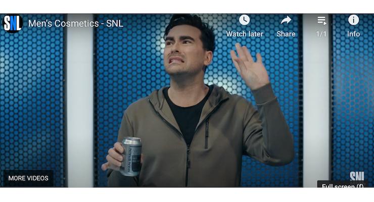 Dan Levy Makes Fun of Men's Makeup Packaging on SNL