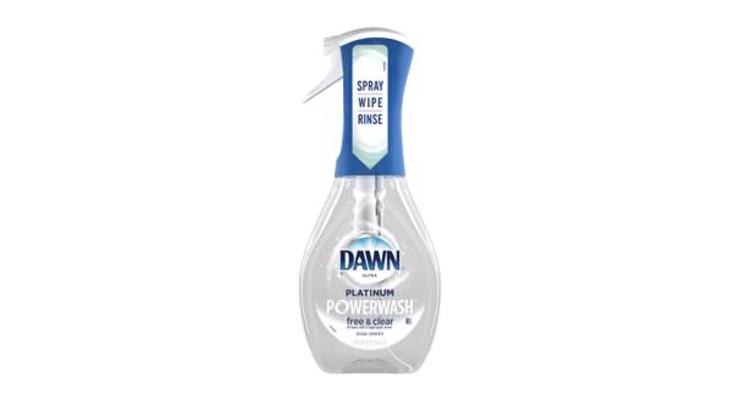 Dawn Unveils Free & Clear Dish Spray