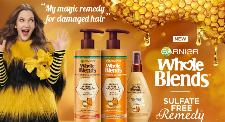 Drew Barrymore Partners with Garnier for New Creative Campaign
