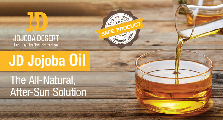 JD Jojoba Oil - The All-Natural, After-Sun Solution