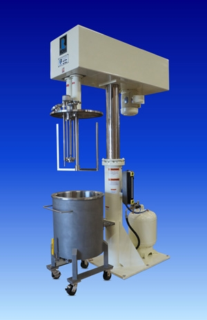 Dual Shaft Mixer designed for increased shear