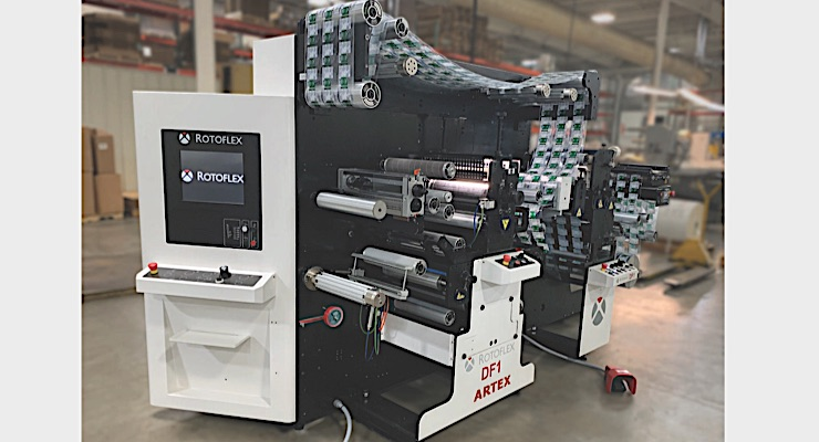 Artex Label installs Rotoflex DF1 finishing machine