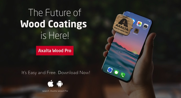 Axalta Launches Wood Coatings Mobile App