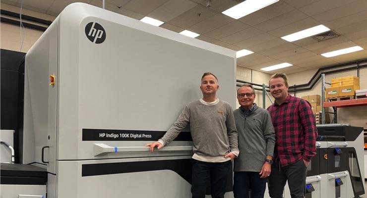 Alexander's Print Advantage Invests in HP Indigo 100K Digital Press