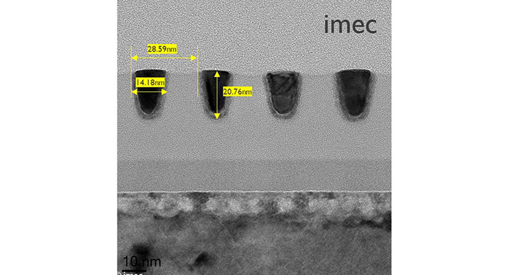 Imec Pushes Single-Exposure Patterning Capability of 0.33NA EUVL to Extreme Limits