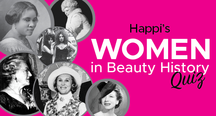 Happi's Women in History Month Quiz