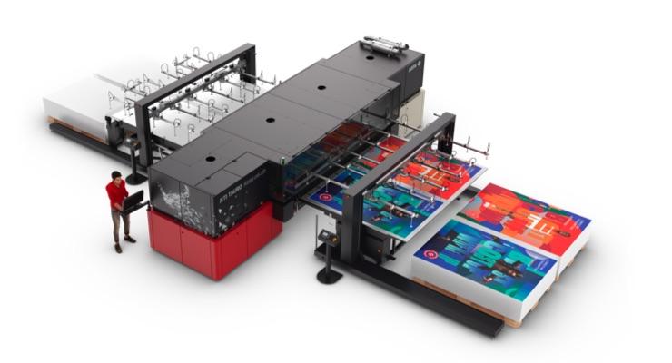 Agfa Introduces Fastest Jeti Tauro Inkjet Printer