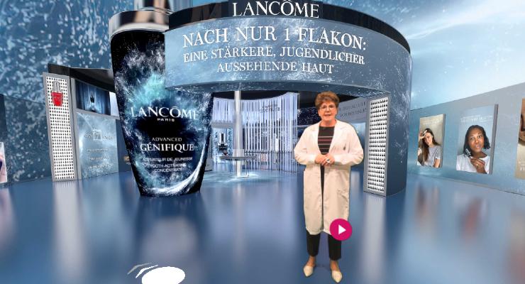 Lancôme Debuts Virtual Stores