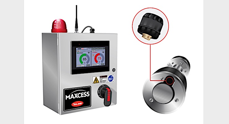 Maxcess launches Tidland PressureMax Airshaft Pressure Monitoring System