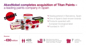 AkzoNobel Completes Titan Acquisition