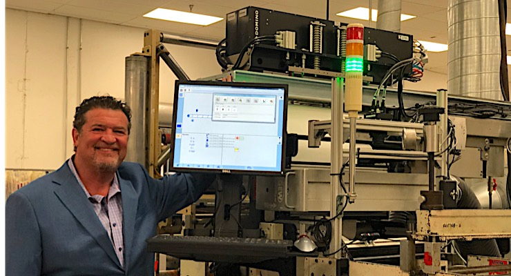 Abbott Label installs Domino K600i dual bar digital UV inkjet printer