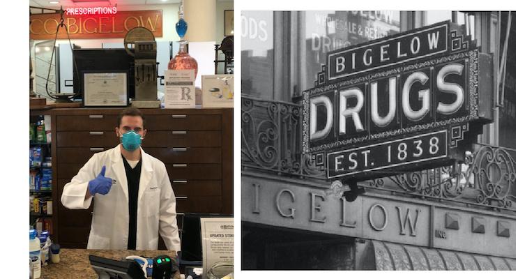 C.O. Bigelow Earns Praise as NYC