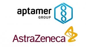 Aptamer Extends Collaboration with AstraZeneca