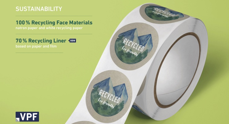 VPF launches liner made from recycled paper