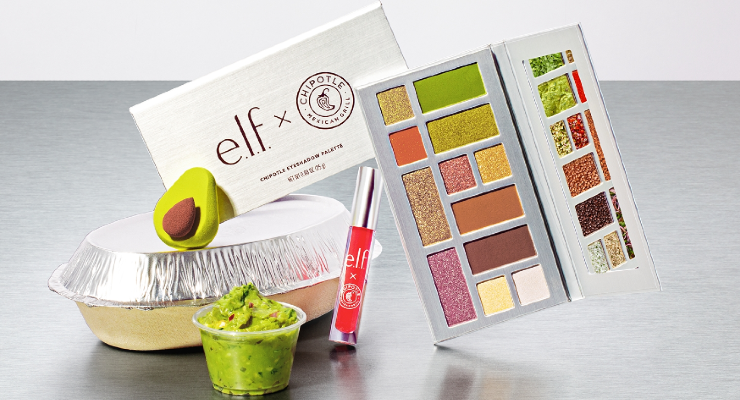 e.l.f. Cosmetics and Chipotle Collaborate on Burrito-Inspired Makeup Collection