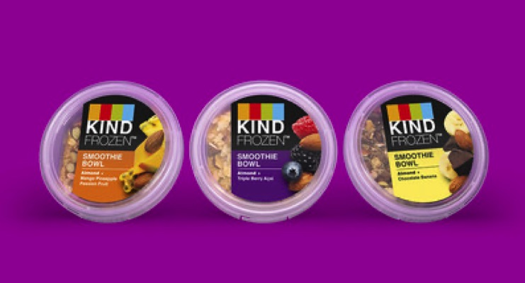 KIND Debuts Frozen Smoothie Breakfast Bowls