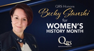 QRS Honors Becky Staveski for Women's History Month