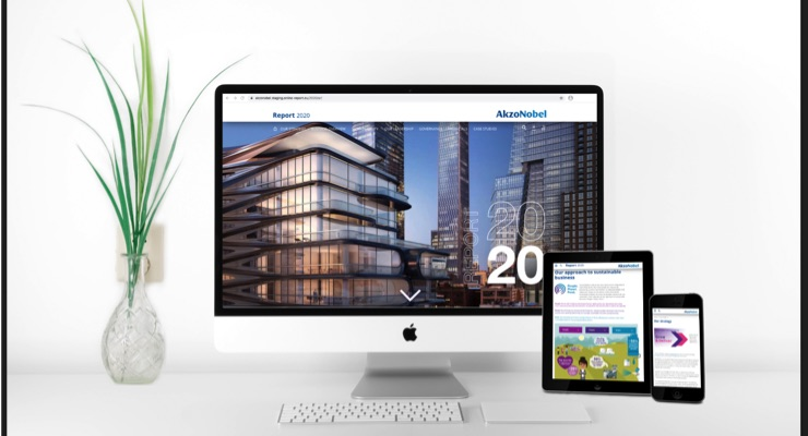 AkzoNobel Publishes Digital 2020 Annual Report