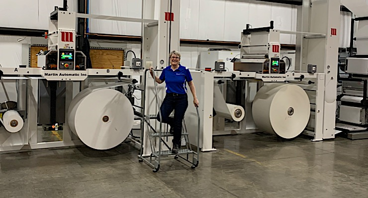 Channeled Resources installs two Martin Automatic butt splicers