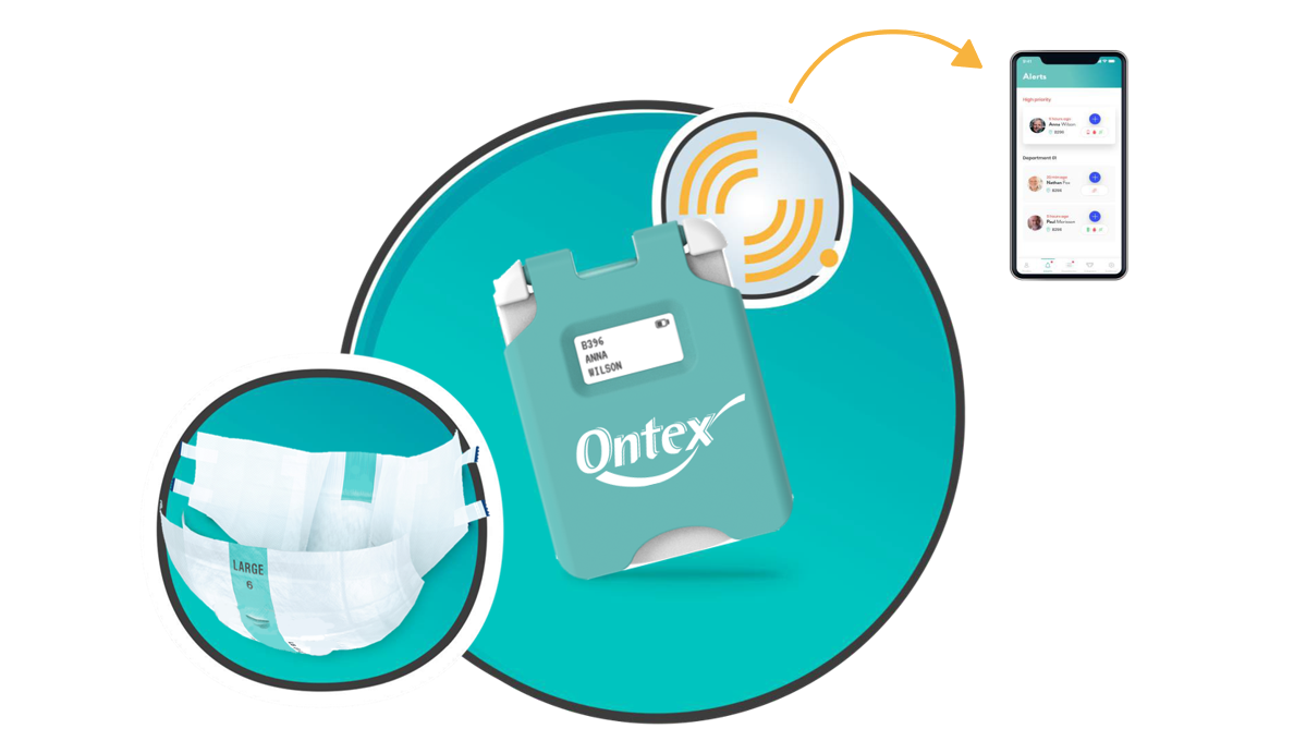 Ontex's Smart Diapers Use Printed Sensors to Improve Adult Care