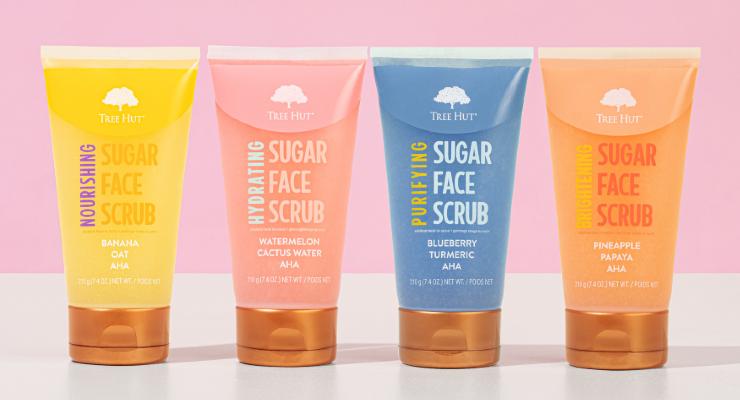 Tree Hut Unveils Sugar Face Scrubs