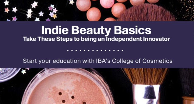 Indie Beauty Basics, a Free Webinar from IBA