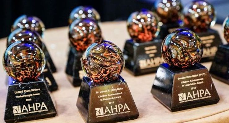 2021 AHPA Awards Recognize Excellence in the Herbal Community