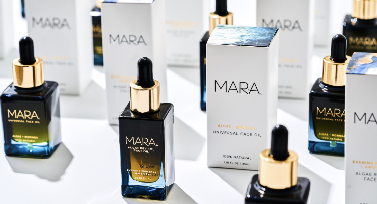 A Wave of Blue Beauty Brands Is Rolling In