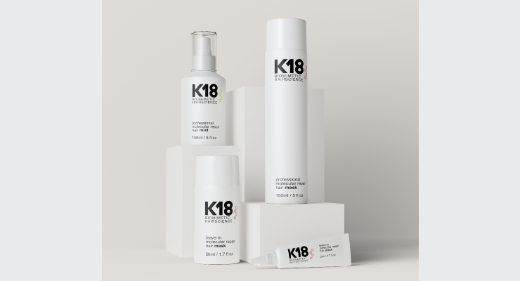 K18 Biomimetic Hairscience Debuts in Salons
