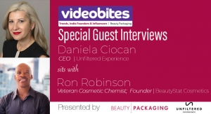 Videobite: Interview with Veteran Cosmetic Chemist Ron Robinson, BeautyStat