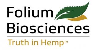 Folium Biosciences Submits Novel Food Application for CBD in U.K.