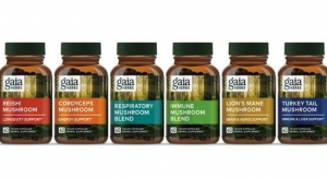 Gaia Herbs Launches Line of Mushroom Capsules