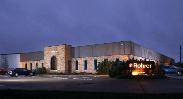 Rohrer Corporation Acquired by Wellspring Capital