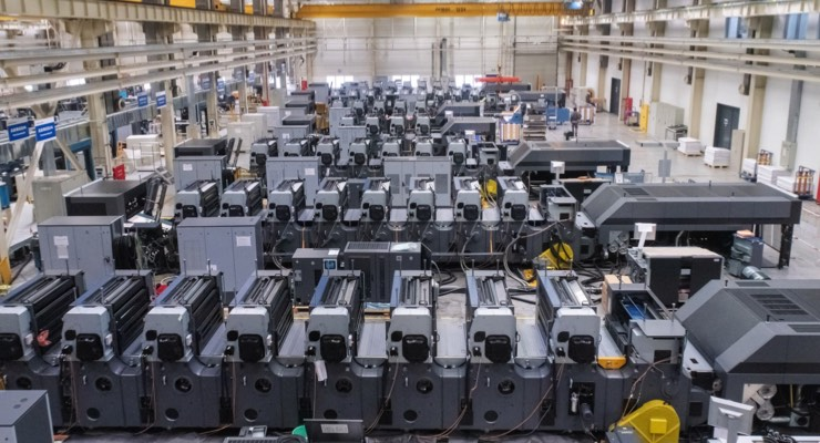 Heidelberg Increases Press Exports from Chinese Production Operations
