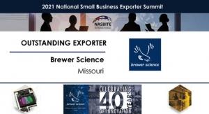 Brewer Science Named Outstanding Exporter for Missouri by NASBITE International