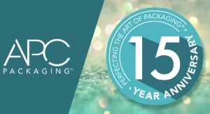 APC Packaging Celebrates 15th Anniversary