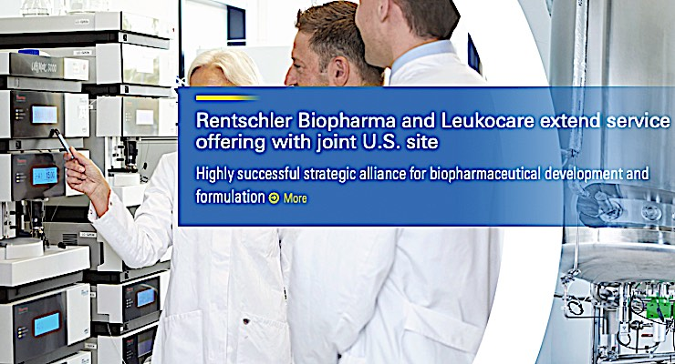 Rentschler, Leukocare Extend Service Offering with U.S. Site