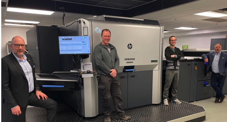 Paragraph Acquires HP Indigo 12000 Press