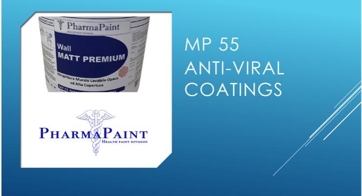 Pharma Paint Launches MP 55 Antiviral Paint