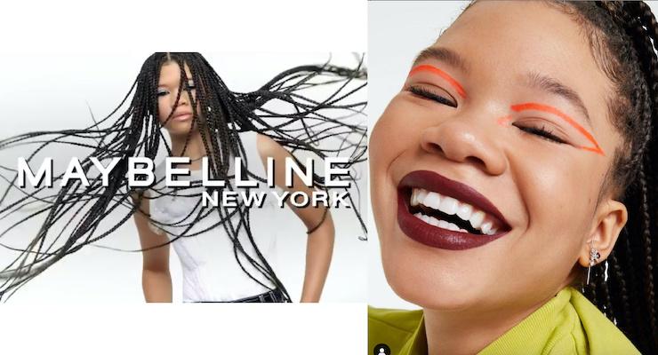 Maybelline Recruits Storm Reid