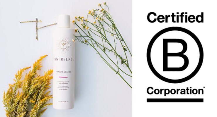 Innersense Organic Becomes Certified B Corporation