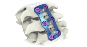 Aurora Spine Receives FDA 510(k) Clearance for Anterior Cervical Plate System