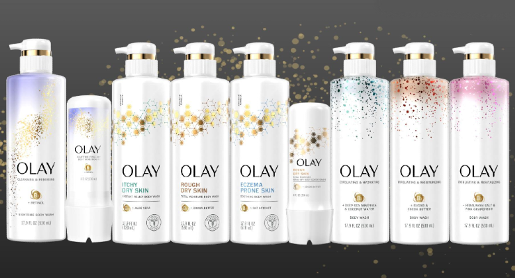Olay Debuts Three New Premium Body Care Collections
